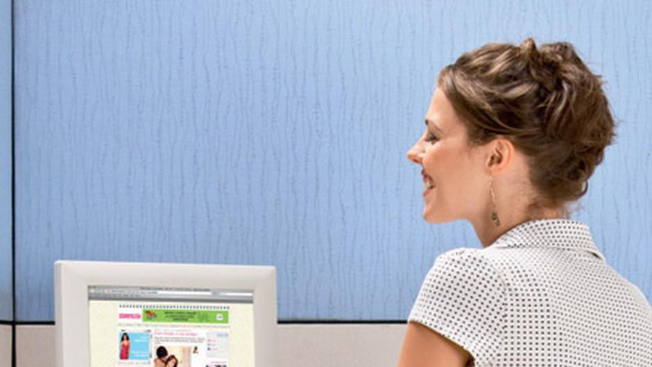 Telovadba za računalnikom ne more nadomestiti drugih aktivnosti. (foto: www.shutterstock.com)