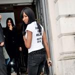 Naomi Campbell na naslovki francoskega Voguea (foto: promocijski material in Story arhiv)