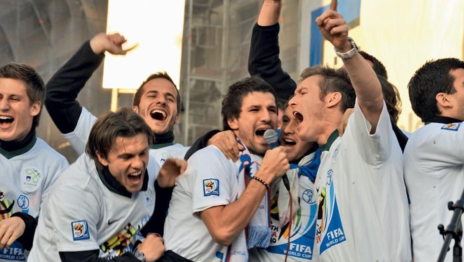 Najlepša nogometna pravljica doslej (foto: Goran Antley, Primož Predalič)
