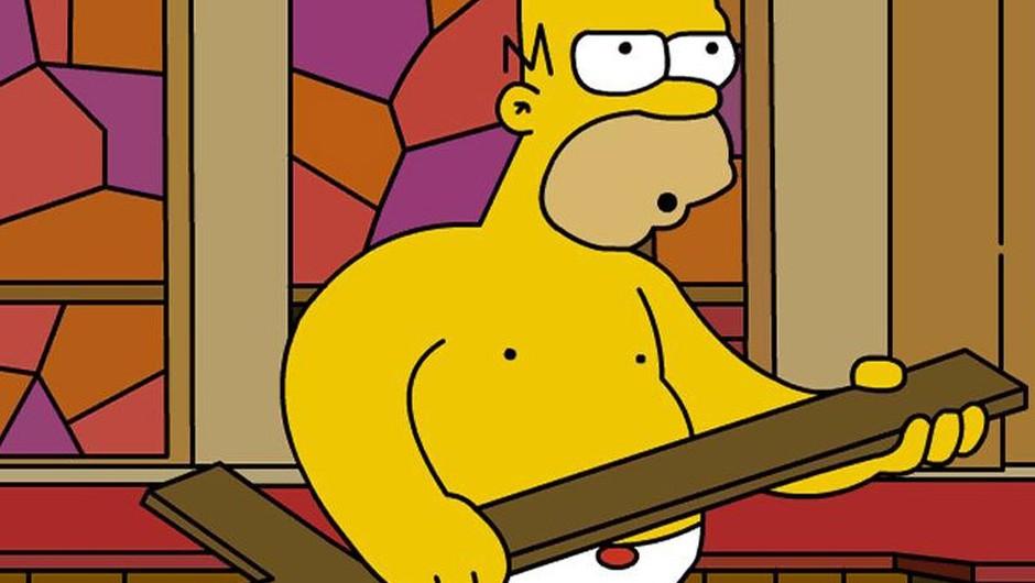 Vatikan je Homerja razglasil za pravega katolika (foto: Homer Simpson)