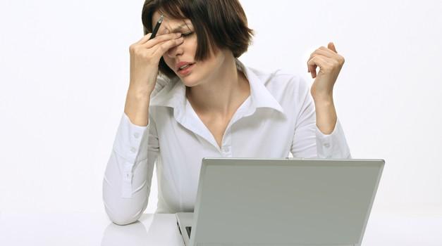 Sindrom suhih oči: Peče in se solzi! (foto: shutterstock)