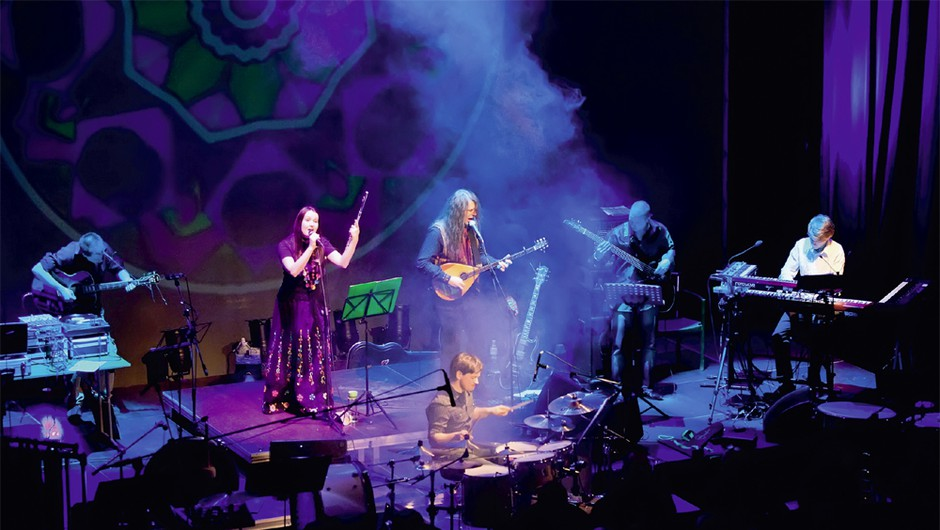 Terrafolk skupaj z The Ukulele Orchestra v Križankah (foto: Nova)