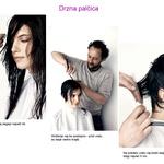 Kako do kratke frizure: drzna palčica. (foto: Dean Isidro)