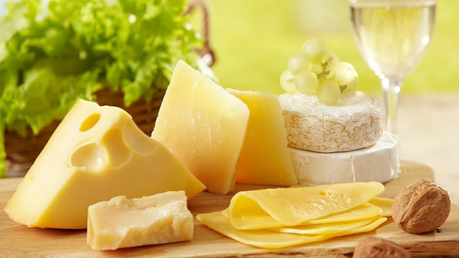 Njegovo okusno veličanstvo – sir - za tvoj zdrav vsakdan! (foto: shutterstock)