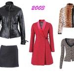 Leto 2003  Si za kaj vročega? Živalski vzorec, rožnat plašč do kolen ali svetlikajoča jaknica bodo v hladnejših mesecih zelooo popestrili tvojo garderobo. (foto: arhiv Cosmopolitana, Shutterstock)