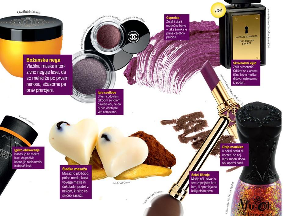 Lepotilna kozmetika: Jesenska predigra (foto: Aleksander Štokelj, promociski material, Shutterstock, Jeffrey Westbrook/Studio D.)