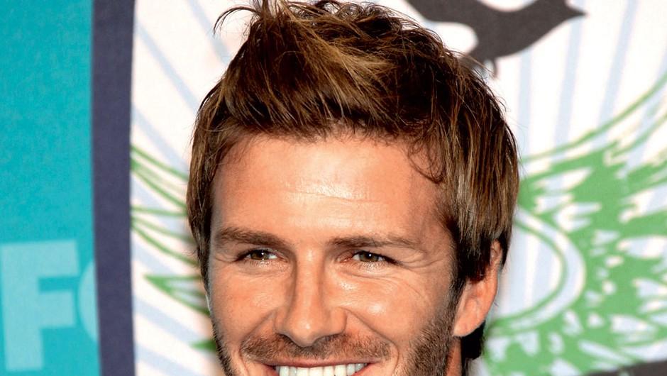 David Beckham: Razlog, da tudi punce spremljajo nogomet. (foto: Profimedia.si, Sašo Radej, Mimi Antolovič)