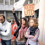 Occupy Together: Okupirali tudi Ljubljano in borzo, da tokrat zares spremenijo svet! (foto: Primož Predalič)
