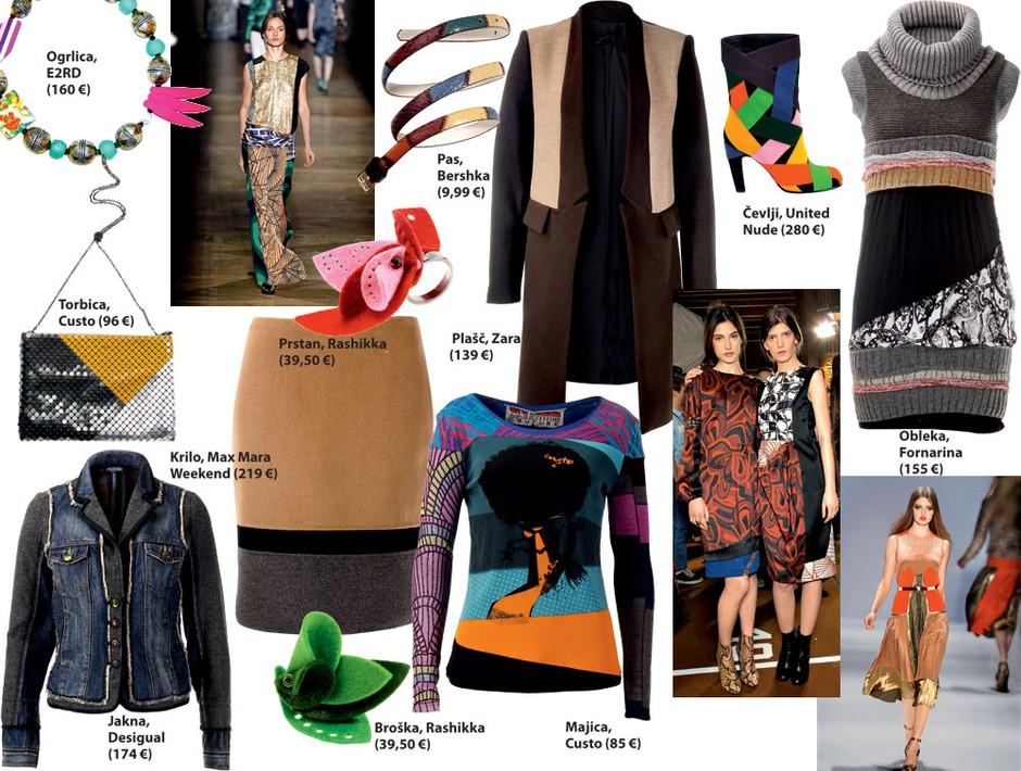 Modni kolaž (foto: All-About-Fashion, Aleksander Štokelj)
