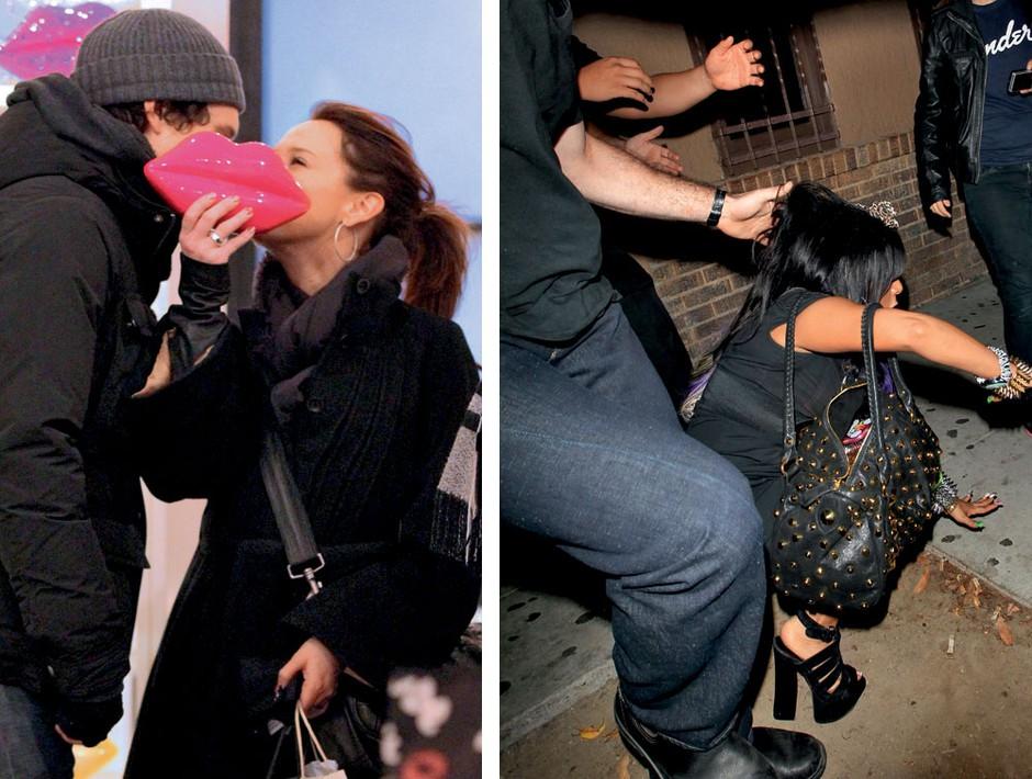 Poljubljanje z luštnim tipčkom je seksi, poljubljanje tal na ulici pa totalen kiks.  (foto: profimedia.si, Shutterstock, Primož Predalič, Tibor Golob)