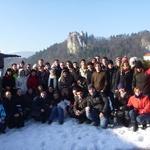 Silvestrovanje študentov z AEGEE v duhu slogana I feel sLOVEenia (foto: promocija)