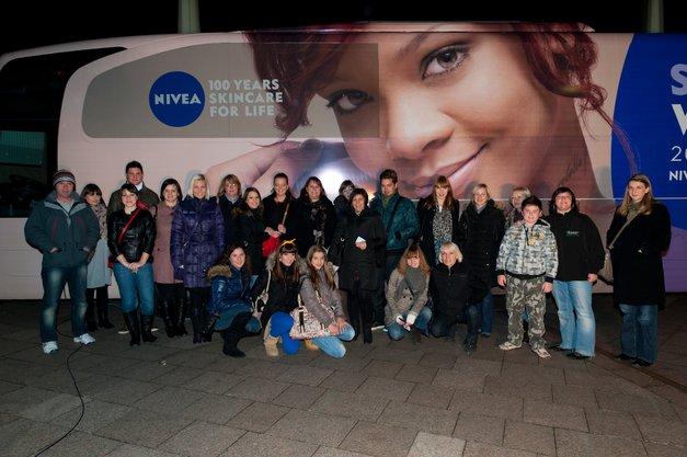 Fotoreportaža s koncerta v Budimpešti: Seksi Rihanna (foto: Manca Čampa)