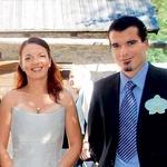 Peter Mankoč in Teja Mankoč Šolar (foto: story press)
