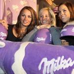 Milkin šopek alpskih lepotic (foto: Milka press)