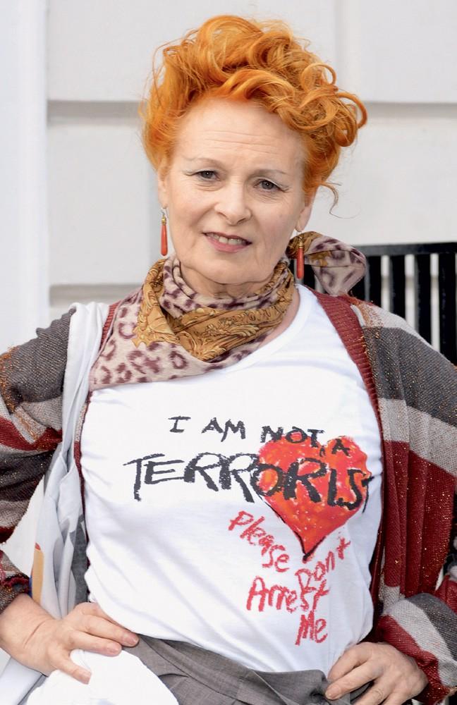 Posebna sposobnost: Dokazala je, da je stara, poceni in oguljena majica lahko glamurozna. (foto: story press)
