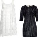 Obleka, Guess by Marciano (141 €) in črna obleka, Mango (49,99 €)