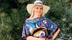Modni stil tedna: Poletna lahkost Lucienne Lončina