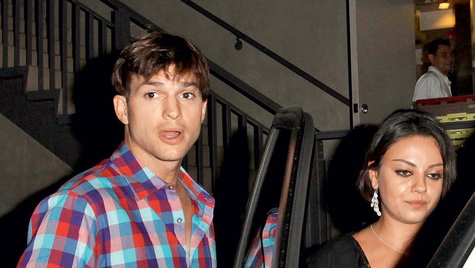 Ashton Kutcher in Mila Kunis (foto: Profimedia.si)