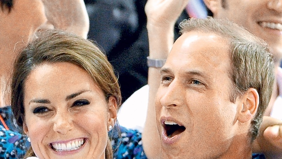 Princ William in Catherine strastna navijača (foto: Getty Images)
