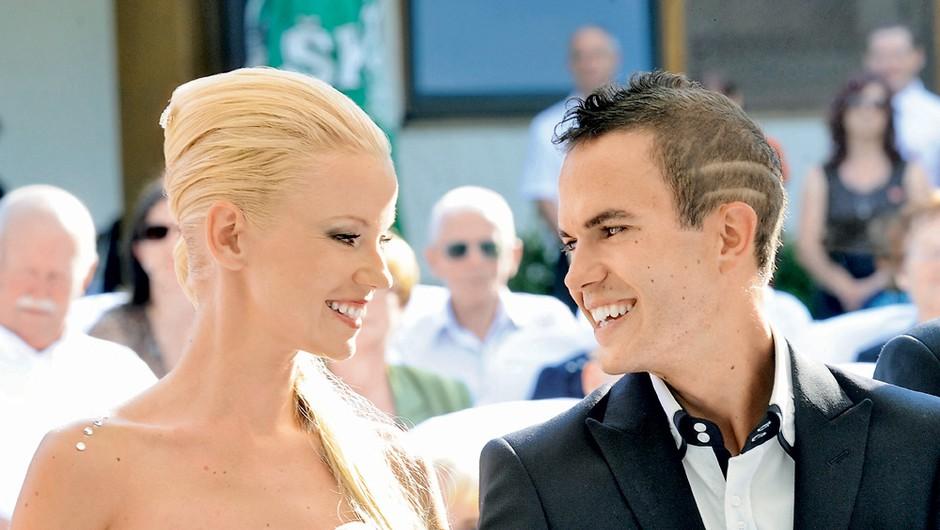 Retrospektiva poročnega dne Taye in Jerneja Damjana (foto: Story Press)