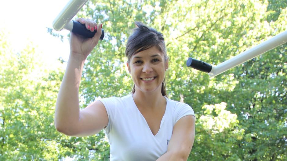 NUPO ambasadorke za tek v petkah priporočajo vadbe na prostem (foto: Danijel Čančarević)