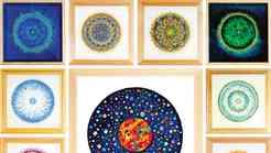 Ustvarjalka Tadeja Vidmar in njene mandale