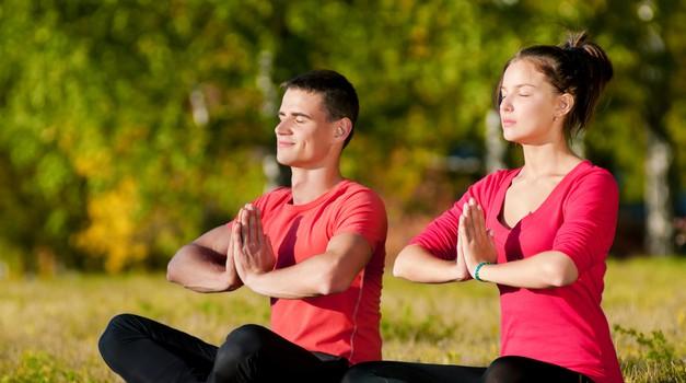 Pridruži se brezplačni meditaciji v parku Tivoli (foto: shutterstock)