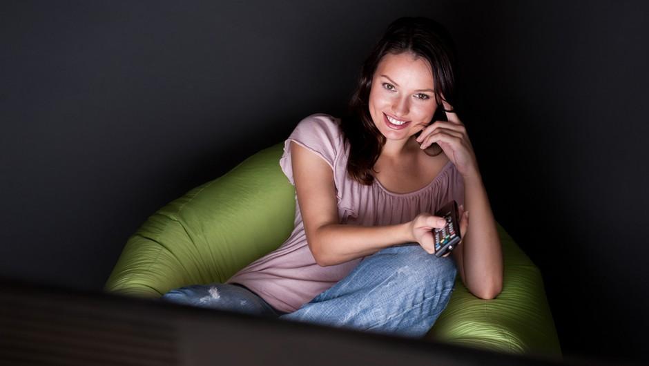 Gledanje romantičnih filmov škodi resnični romanci (foto: shutterstock)