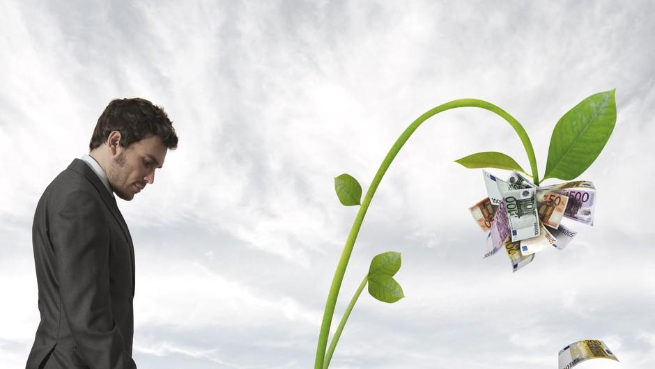 Pozitivne misli so kot depoziti v banki! (foto: shutterstock)