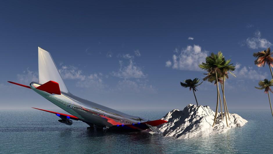 Najbolj varni sedeži na letalu so v zadnjem delu letala! (foto: shutterstock)