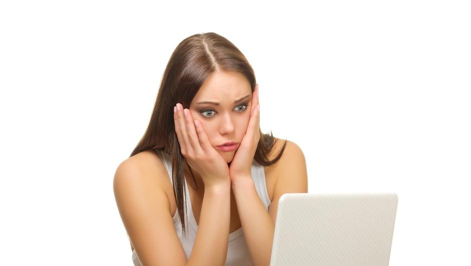 Težave z računalnikom? (foto: shutterstock)