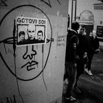 Foto utrinki ugrabitve nekega protesta! (foto: Aleš Pavletič)