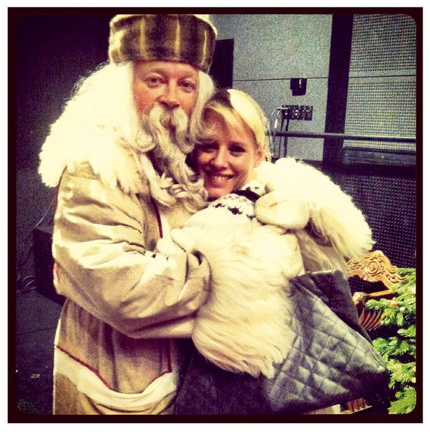 1. Se stiskale k dedku Mrazu.