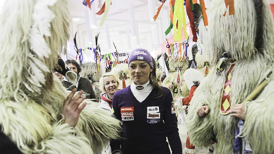 Fotoreportaža iz Maribora: Tina Maze dobila lasten kraljevski srebrnik! (foto: goran antley)
