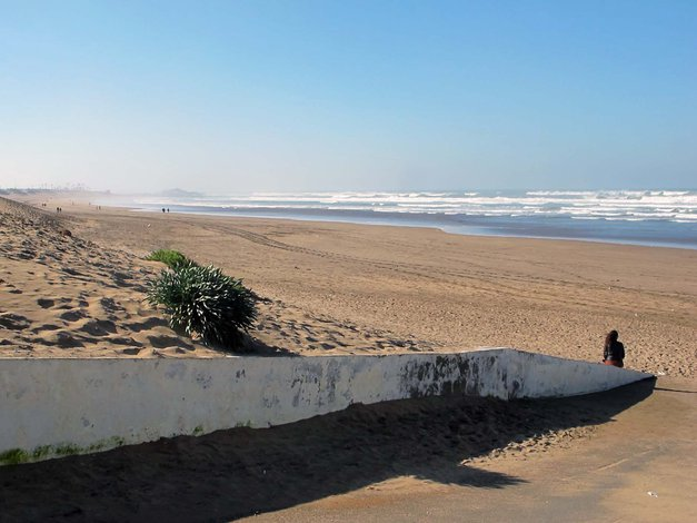 Peščena plaža, Casablanca (foto: Kaja Antley)