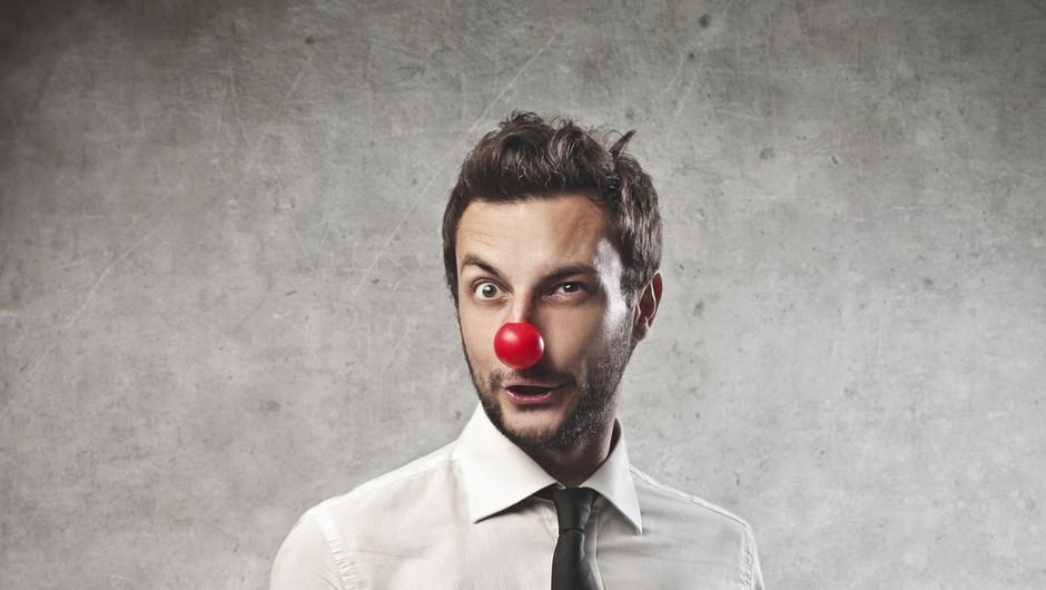 Ne dovoli, da ti poslovno idejo uničijo klovni! (foto: shutterstock)