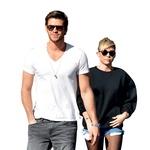Liam Hemsworth in Miley Cyus (foto: Shutterstock, profimedia)