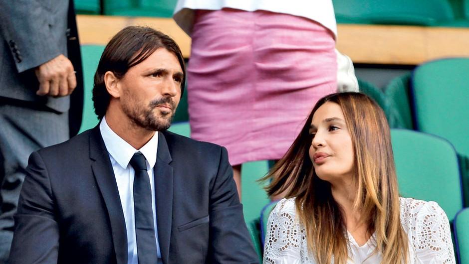 Goran Ivanišević in Tatjana Dragović (foto: Profimedia)