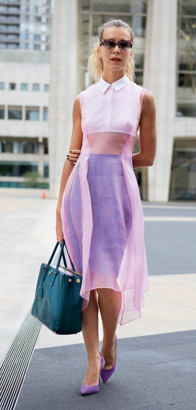 Modni trend za vroče dni: Kratek top (foto: Aleksander Štokelj, All-About-Fashion)
