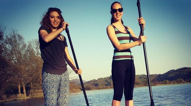 Stand up paddling je šport za zabavo in rekreacijo. (foto: osebni arhiv)