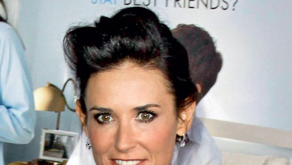"""""""Demi ne moti, da je bil njen sedanji fant Harry nekoč fant njene hčerke Rumer"""" (foto: Profimedia)"""