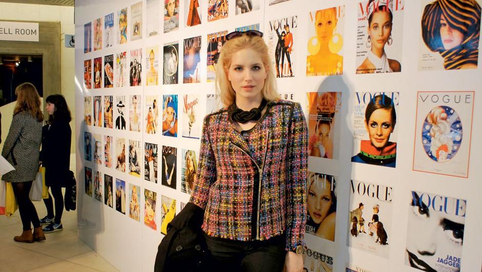 Ajda je konec tedna preživela v Londonu, kjer je obiskala Vogue Festival. (foto: Osebni arhiv)