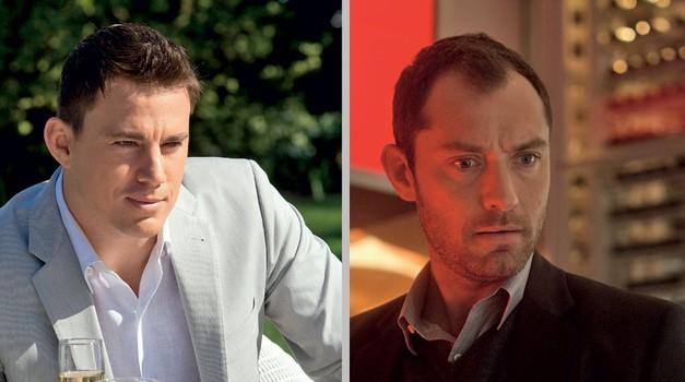 Jude Law in Channing Tatum v trilerju Stranski učinki (foto: Blitz Film)