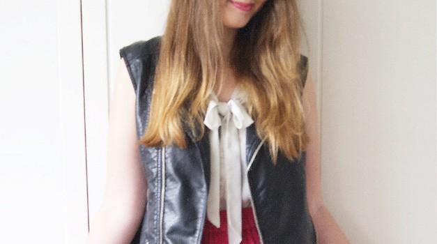 V krilu Gvant, ki je eden izmed najljubših kosov v moji garderobi - za samo 8€! (foto: Živa Gedei)