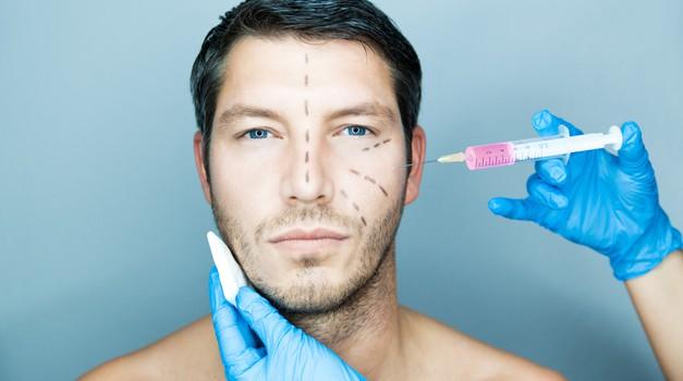 Estetski posegi vse pogostejši tudi pri moških (foto: shutterstock)