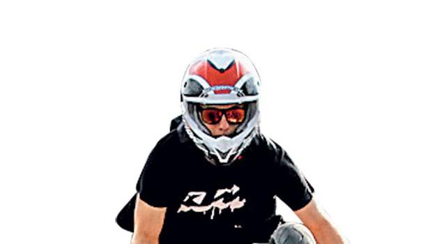 Motorist Rok Bagoroš (foto: Arhiv AML)