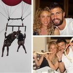 Shakira in Gerard še vedno zelo zaljubljena (foto: twitter)