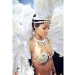 Rihanna navdušila na paradi (foto: twitter)