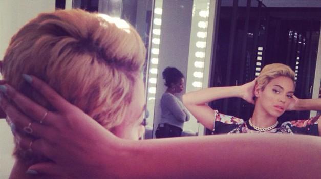 Beyonce presenetila z novo pričesko (foto: Instagram)