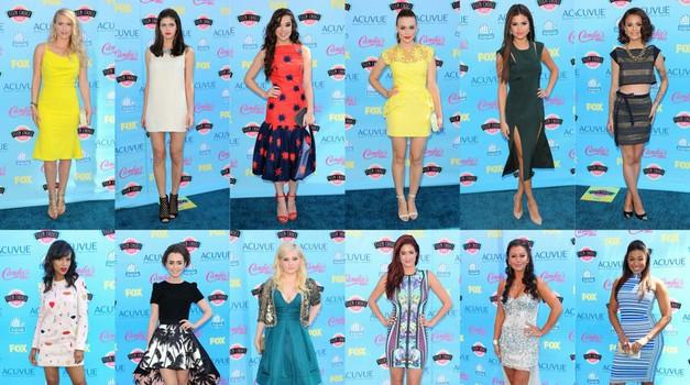 Moda na podelitvi nagrad Teen Choice Awards  (foto: Profimedia)